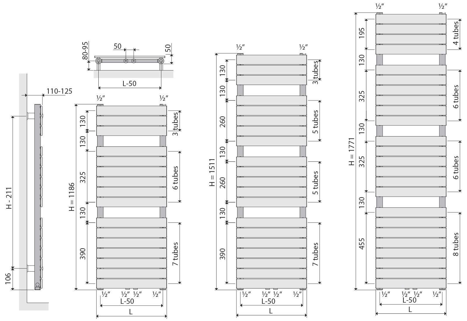 Design range - ALMADA