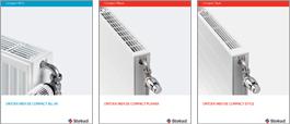 Compact-Heizkörper Produktblätter